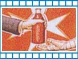 immagine bottiglia di sangue