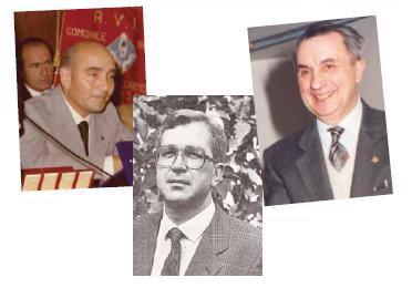 I tre Presidenti: Sirtori, Assi, Soldati