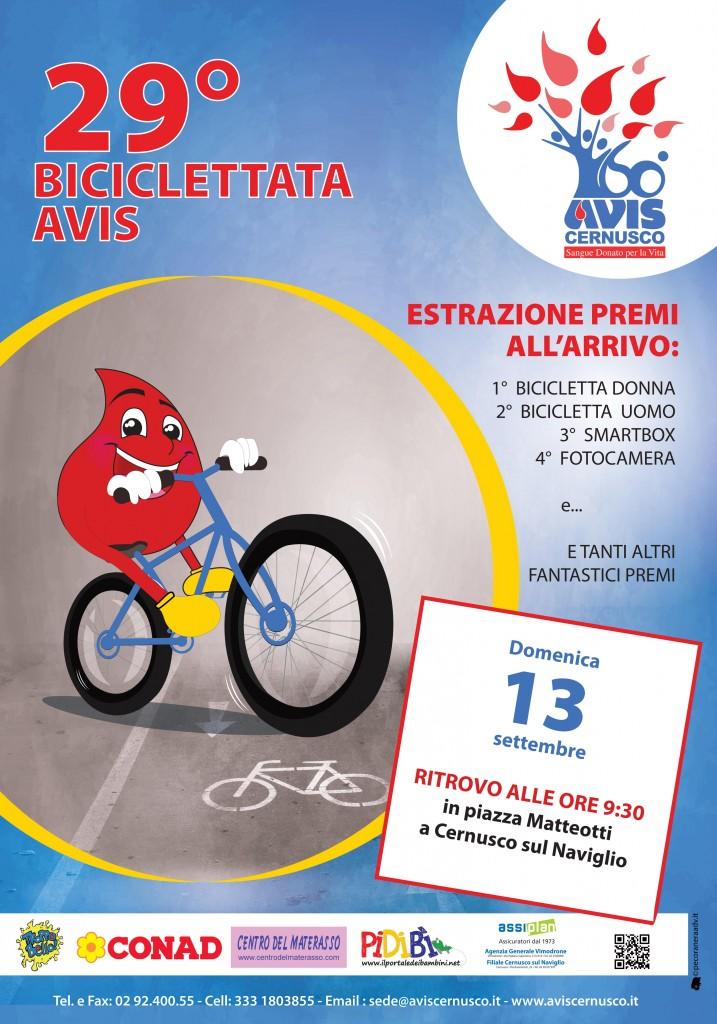 Biciclettata 2015 Avis Cer.